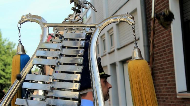 Großaufnahme Lyra (Musikinstrument) - Schützenverein
